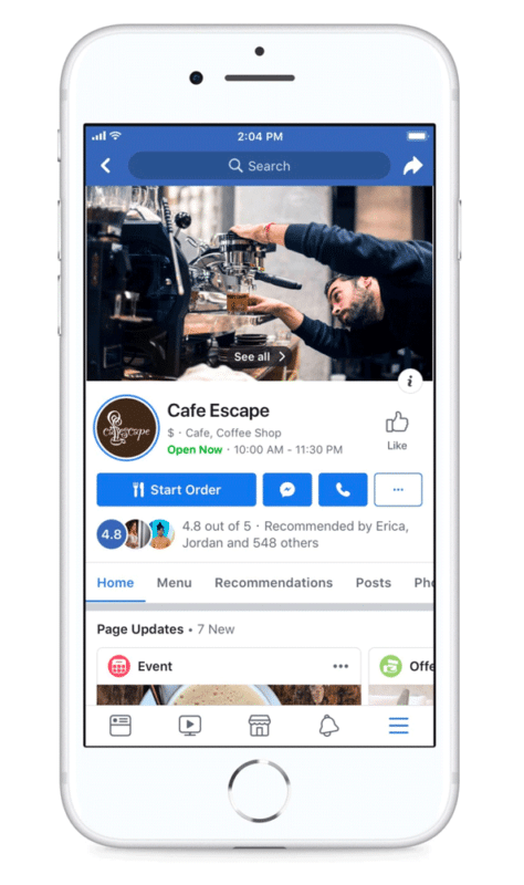 News Feed - a feature less important